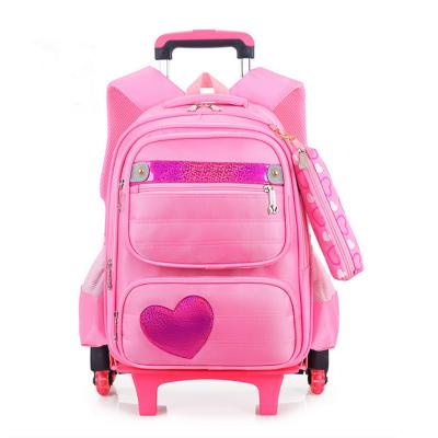 Girl's Wheeled Travel Backpack